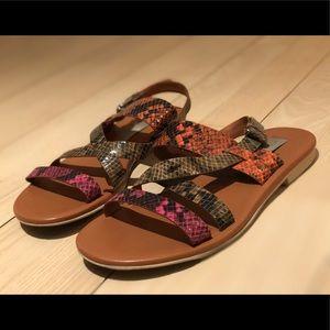Stella McCartney colorful sandals!